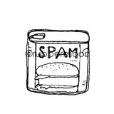 Kae Pea | KP5393E - Potted Meat - Rubber Art Stamp