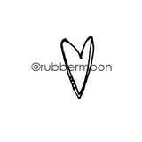Kae Pea | KP5410B - Maybe a Heart - Rubber Art Stamp