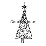 Kae Pea | KP5476G - Joylovepeace Tree - Rubber Art Stamp