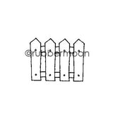 Kae Pea | KP5487B - Picket - Rubber Art Stamp
