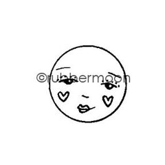 Kae Pea | KP5504C - Sweet Cheeks - Rubber Art Stamp