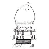Lori Sparkly Franklin | LF7000I - Birdie Builder - Rubber Art Stamp
