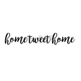 Lori Sparkly Franklin | LF7034D - Home Tweet Home - Rubber Art Stamp
