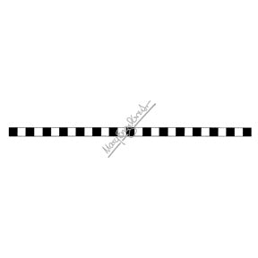 Mary Engelbreit | ME7689J - Checkered Line - Rubber Art Stamp