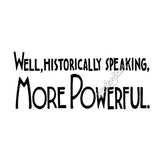 "Mary Engelbreit | ME7732G - ""More Powerful"" - Rubber Art Stamp"