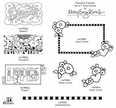 Mary Engelbreit | Fanciful Frames Stamp Set