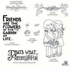 Mary Engelbreit | Friends Forever Stamp Set