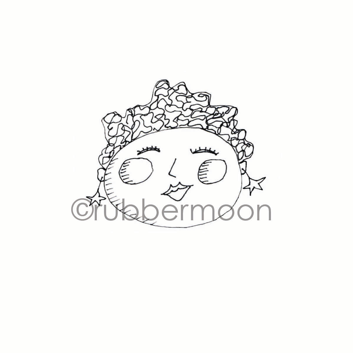 Marylinn Kelly | MK7209F - Cheeky - Rubber Art Stamp