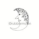 Marylinn Kelly | MK7210G - Flora Luna - Rubber Art Stamp