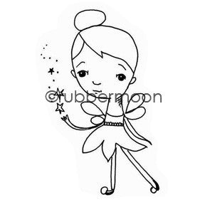 Magical Pixie - ML5611G - Rubber Art Stamp