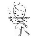 Mindy Lacefield | ML5611G - Magical Pixie - Rubber Art Stamp