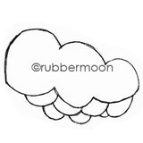 Mindy Lacefield | ML5614F - Joyful Cloud - Rubber Art Stamp