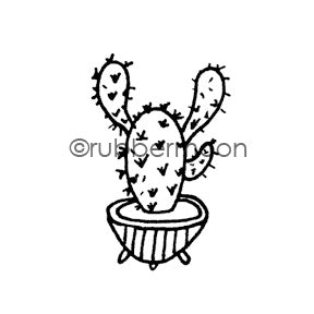 Maxi Moon | MM7088D - Sassy Saguaro - Rubber Art Stamp