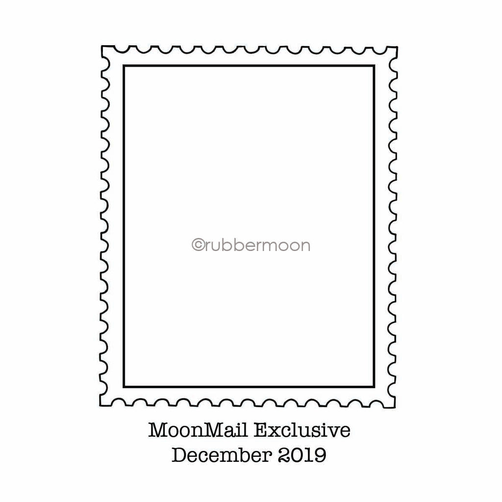 MoonMail Exclusive | December 2019 | ATC Postage Stamp