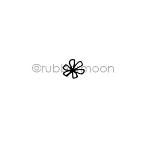 Maxi Moon | MM7171AA - Bitsy Bloom - Rubber Art Stamp
