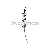 Maxi Moon | MM7172C - Sweet Sprig - Rubber Art Stamp