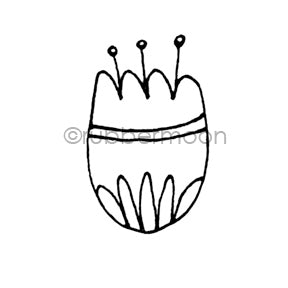 Maxi Moon | MM7179F - Mod Tulip - Rubber Art Stamp