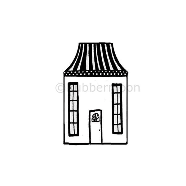 Humble Abode - NC5286E - Rubber art Stamp