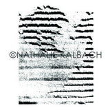 Nathalie Kalbach | NK5563J - Torn Layers - Rubber Art Stamp