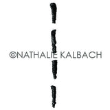 Nathalie Kalbach | NK5570H - Satin Doll - Rubber Art Stamp