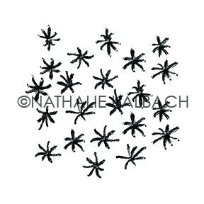 Star Fish - NK5571G - Rubber Art Stamp