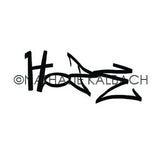 Nathalie Kalbach | NK5578D - Hope Tag - Rubber Art Stamp