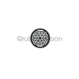Nathalie Kalbach | NK7241B - Park Blvd (small) - Rubber Art Stamp