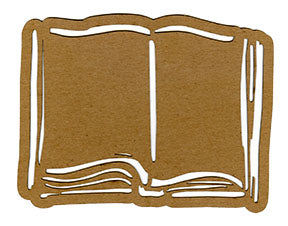 Kae Pea | Open Book - Mixed Media Chips (Pack of 2)