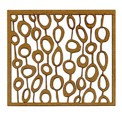 Elizabeth St. Hilaire | Seaweed Circles - Mixed Media Chips (Pack of 2)