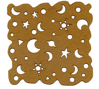 Kae Pea | Night Sky - Mixed Media Chips (Pack of 2)