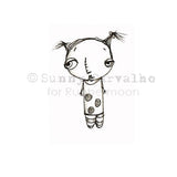 Sunny Carvalho | SC5237D - Stripes & Polkadots - Rubber Art Stamp
