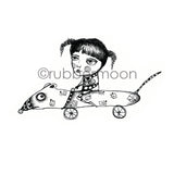 Sunny Carvalho | SC7221H - Rat Race - Rubber Art Stamp