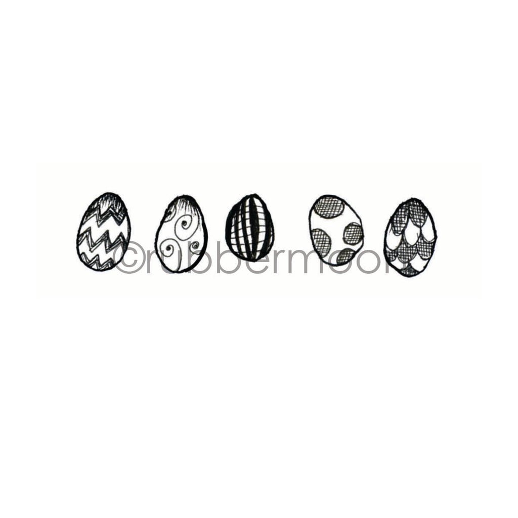 Sunny Carvalho | SC7222F - All Your Eggs - Rubber Art Stamp