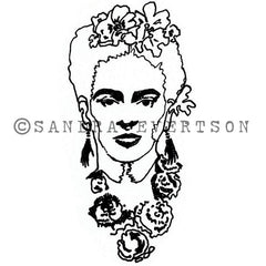 Sandra Evertson | SE6003I - Epiphany - Rubber Art Stamp