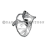 Sandra Evertson | SE6015E - Vessel - Rubber Art Stamp