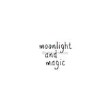 "Sandee Setliff | SS7295D - ""Moonlight and Magic"" - Rubber Art Stamp"