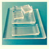 Acrylic Mounts For Cling Stamps