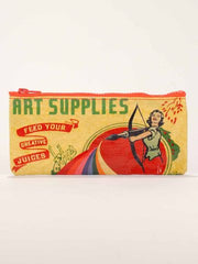 Blue Q | Art Supplies Pencil Case