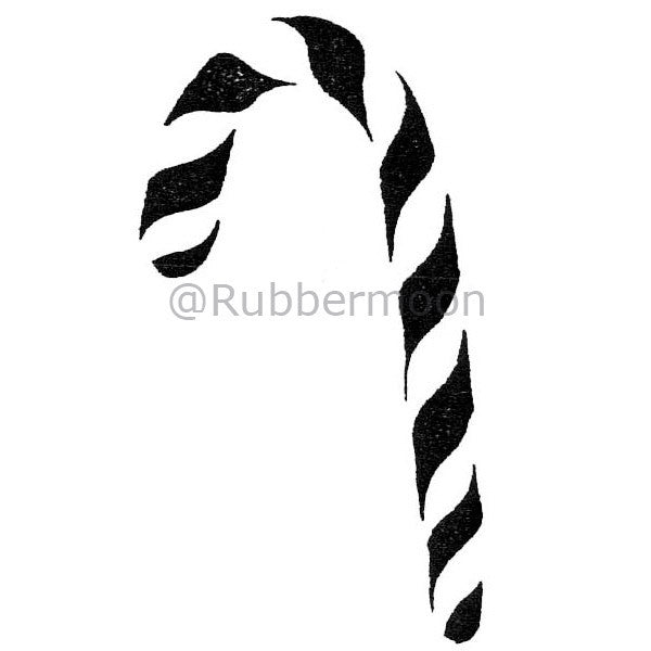 Dave Brethauer | DB2154E - Candy Cane - Rubber Art Stamp