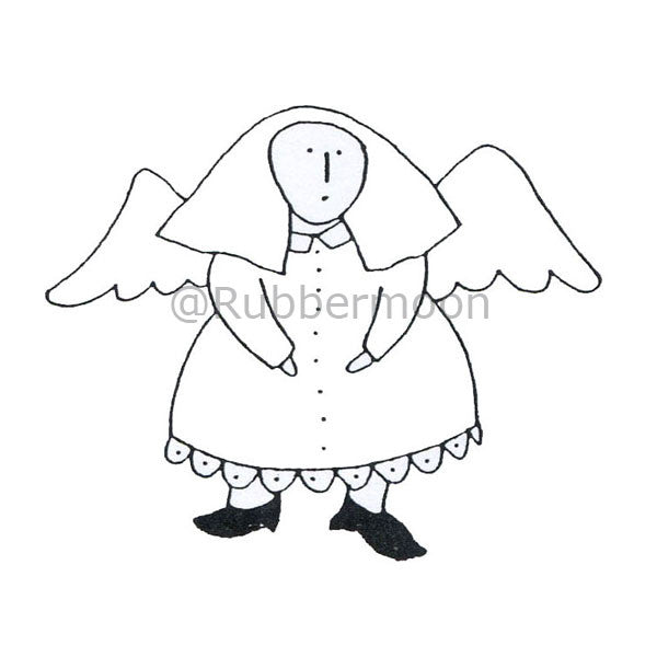 Dave Brethauer | DB2244G - Mabel - Rubber Art Stamp