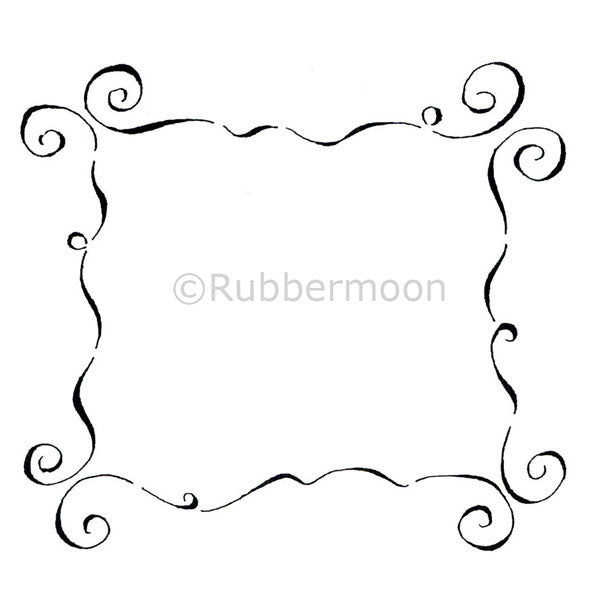Dave Brethauer | DB2305I - Fancy Frame - Rubber Art Stamp