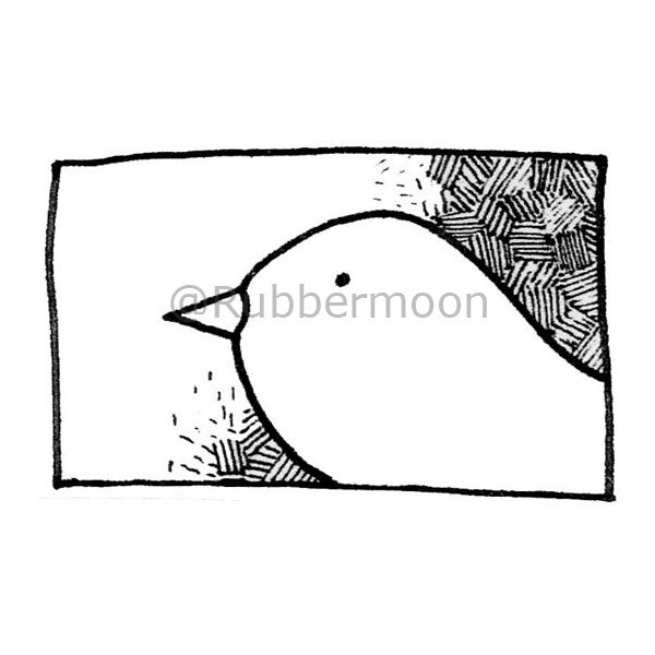 A Dove - DB2667F - Rubber Art Stamp