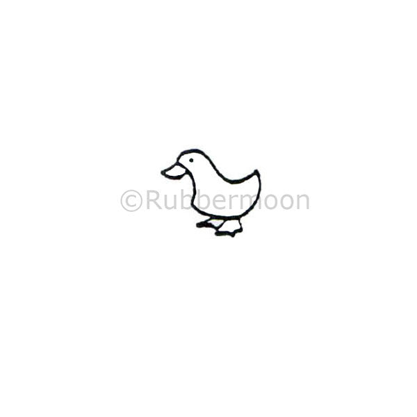 Dave Brethauer | DB4101A - Wee Duck - Rubber Art Stamp