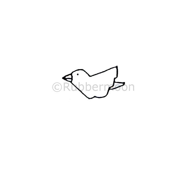 Dave Brethauer | DB4115A - Wee Bird - Rubber Art Stamp