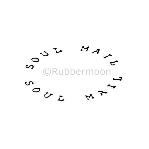 Soul Mail - DB4494D - Rubber Art Stamp