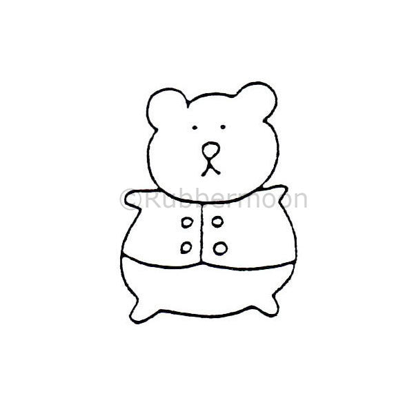 Little Bear - DB9125C - Rubber Art Stamp