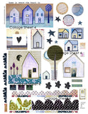 NEW Collage and Embellishment Papers from Kae Pea | Digital or Physical | (3-pk)
