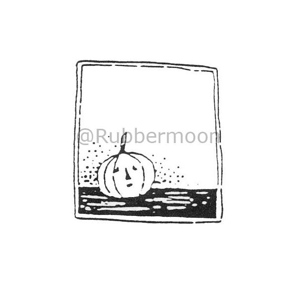 Jane Cather | JC135C - So Scared... - Rubber Art Stamp