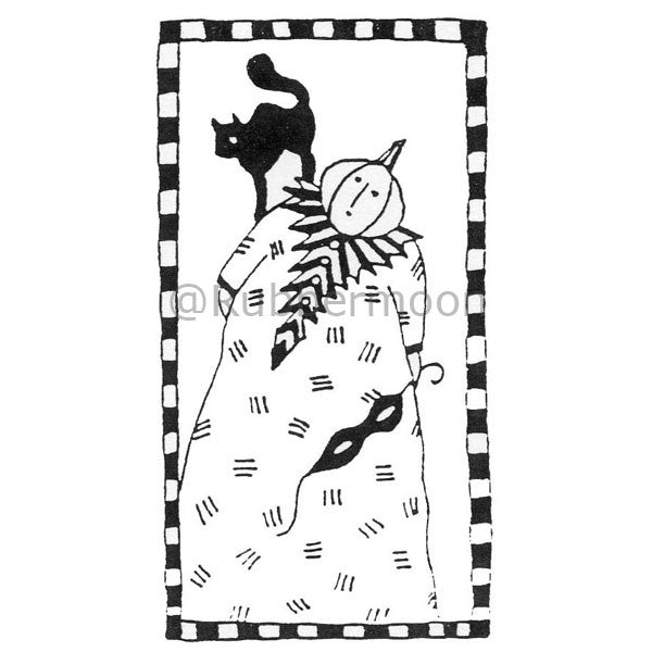 Jane Cather | JC536H - Millie & Pamela - Rubber Art Stamp