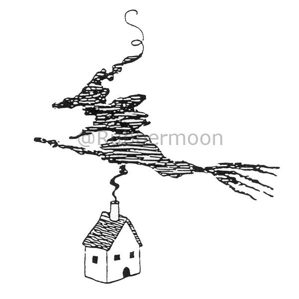 Jane Cather | JC832I - Last House On The Left - Rubber Art Stamp